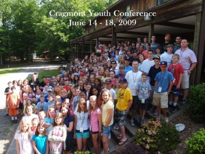 Cragmont Youth Conference June 14 -18, 2009